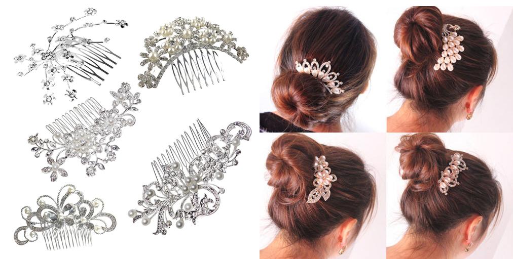 alt Hřebínky do vlasů nejsou jen záležitostí svateb. Nosit je můžete každý  den. efb198eb4f